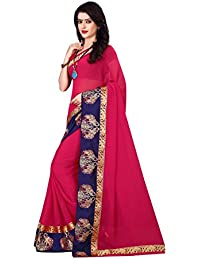 OSCL Saree For Women Peach Party Wear Half Sarees Latest Design Sarees Wedding Casual Design With Blouse Material...