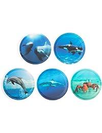 Ergobag Accessoires Klettbilder-Set 5-tlg Kletties Unterwasser 021 unterwasser