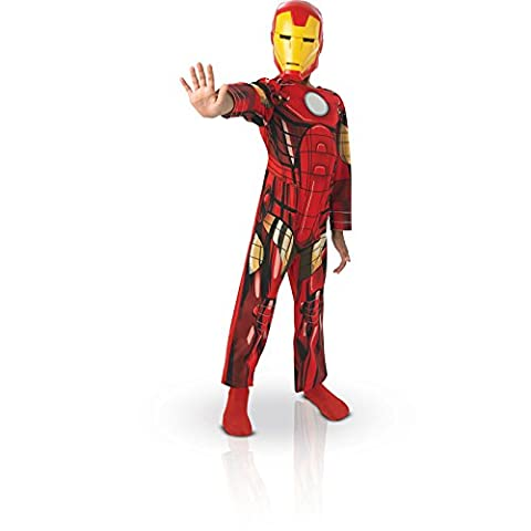 Rubies - CS887750/M - Costume - Iron Man Avengers Assemble - Taille M 5 - /6 Ans