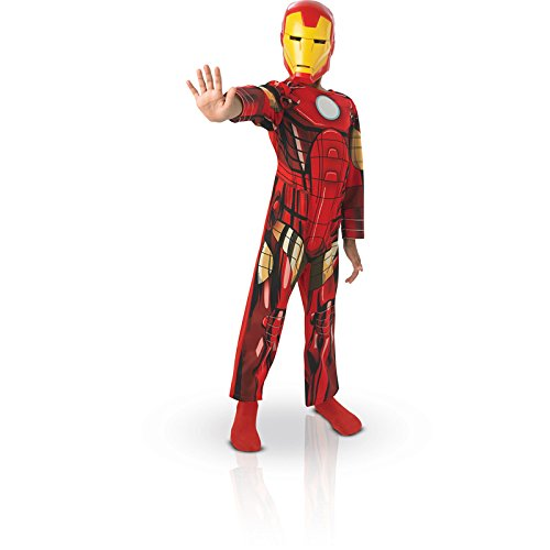 Iron Kid Kostüme Man (Rubies 3887750 - Iron Man Classic Child,)