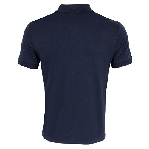 Lacoste DH2050 Klassisches Herren Basic Polo, Polohemd, Polo-Shirt, Kurzarm, Regular Fit, 100% Baumwolle Navy Blue 166