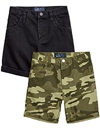 next Niños Pack De Dos Pantalones Cortos Cinco Bolsillos Shorts Corte Estándar