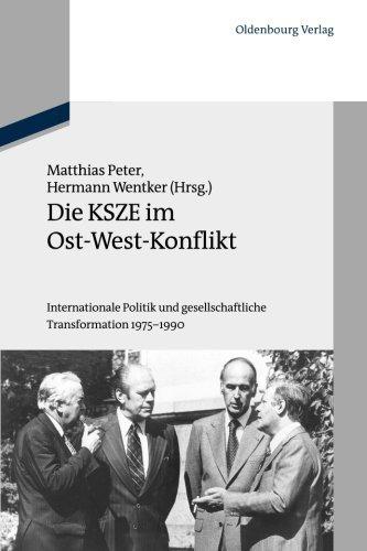 Die KSZE im Ost-West-Konflikt (Schriftenreihe Der Vierteljahrshefte Fr Zeitgeschichte Sondernummer) (German Edition) by Unknown(2012-09-24)