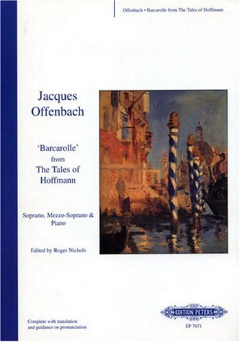 Barcarolle (from 'The Tales of Hoffmann') sop/Mezzo Piano/Chant
