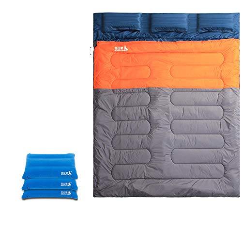 15 ° C 220x180cm Saco Dormir Familiar Tres Personas