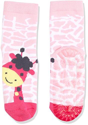 Sterntaler Mädchen Socken Fli Air Giraffe, Rosa (Mandelblüte 715), 28 (Kinder-socken Giraffe)