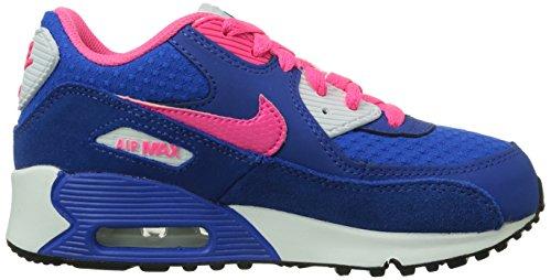Blau Air Unisex Kinder Glattleder Nike 345018 High 2007 Sneaker Max Blau 90 Top Ps ZgqHwd