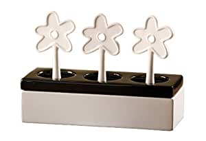 Wenko 52587100 Air humidifier Flower Box  ceramic evaporator, Ceramic, 22 x 16 x 8.5 cm, White
