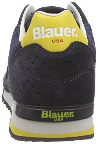 Blauer USA 6srunori/Mes, Baskets Basses homme Bleu - Bleu marine