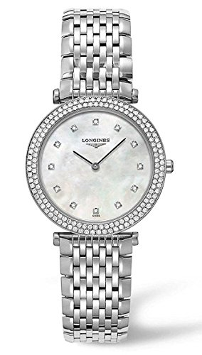 Longines La Grande Classique Stainless Steel & Diamond Womens Watch l4.515.0.87.6