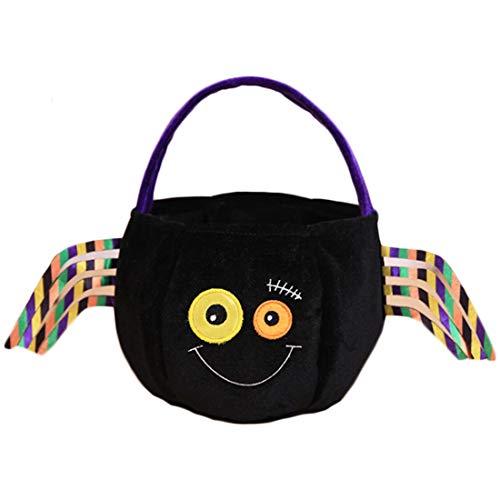 Huicai Halloween Dekoration Handtasche Die neue Kinder Snack Tasche Schöne Einkaufstüte Süßigkeitstasche Cookie Tasche