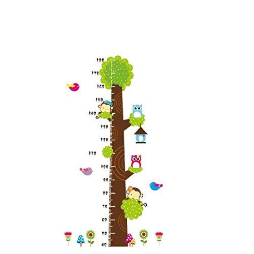 papel-pintado-diseno-de-buhos-mono-arbol-de-dibujos-animados-adhesivo-de-pared-medidor-de-altura-par