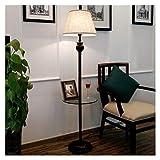 Hyvaluable Stehlampe Wohnzimmer Kreative Lagerung Couchtisch Schlafzimmer Nacht Vertikale Lampe Retro Schmiedeeisen Stehlampe