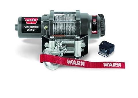 WARN 12V Seilwinde 3000 1360kg Vantage Quad ATV Forstwinde Offroad Winde
