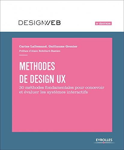 Méthodes de design UX par From Eyrolles