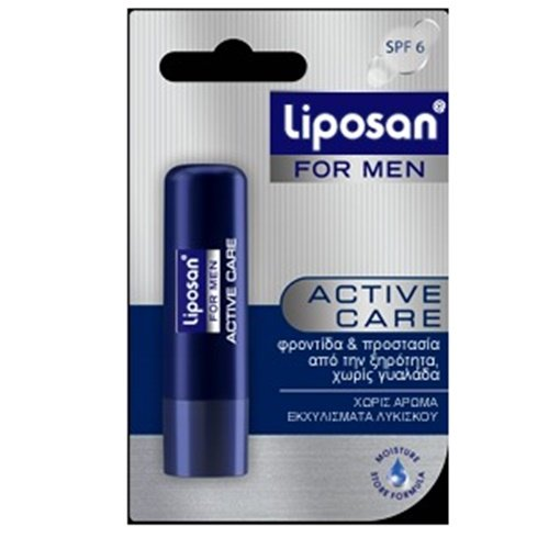 Labello Liposan For Men Activ Care Lip Care Balm 4.8gr Lipcare by Labello