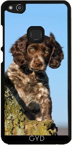 Hülle für Huawei P10 Lite - Niedlich Deutsch Spaniel Hundewelpe by Katho Menden