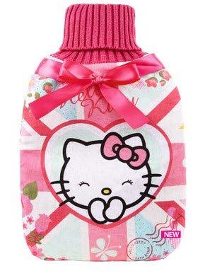 Hello Kitty Traum aus Blümchen Design - Wärmflasche mit Überzug