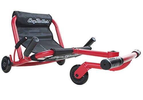 Preisvergleich Produktbild EzyRoller Classic Kinderfahrzeug Dreirad Bewegungs Spielzeug ezy roller, Farbe:rot