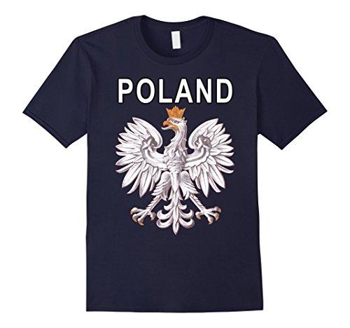 poland-national-emblem-tee-polish-eagle-heritage-shirt-herren-grosse-m-navy