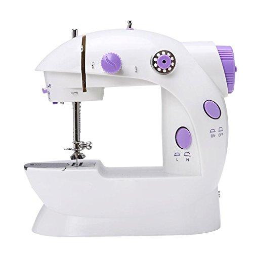 Xuan - worth having Máquina de coser eléctrica para principiantes Máquina para escritorio completamente automática ( Color : Azul )