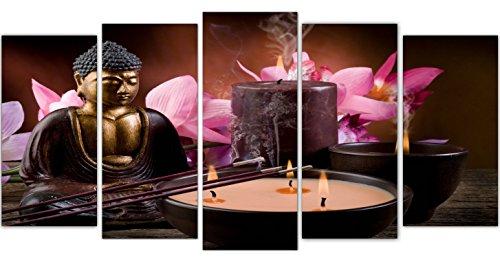 DekoArte – Cuadro moderno Buda zen 178 200x100cm