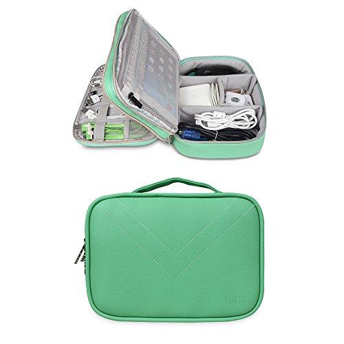Preisvergleich Produktbild BUBM Kopfhörer Wasserdicht doppelte Schichten Reise Gadget Veranstalter Fall, Elektronik Zubehör Tasche