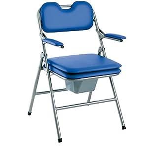 Chaise de toilettes percee pliante Omega H407 - INVACARE