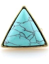 D&D-Joyería Anillos Bisutería De aro rígido De Sello Juego de Anillos Midi Solitarios Pine Triangle Anillo
