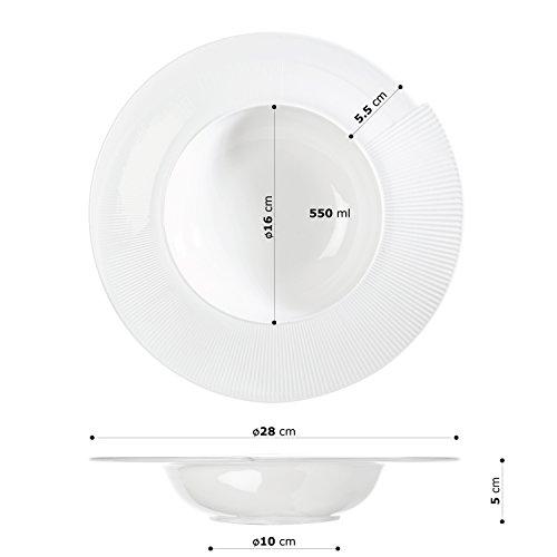 'Assiette à pâtes 28 cm Ø \
