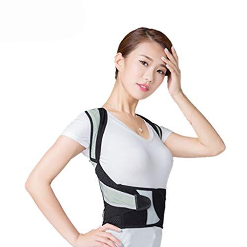 KKCD - Geradehalter Haltungskorrektur Wirbelsäulenunterstützung - Korrekturgürtel Rückenstützgürtel Einstellbare Größe, Physiotherapie Haltungsstütze Für Frauen Und Männer, Schulter Und Nacken Schmerz