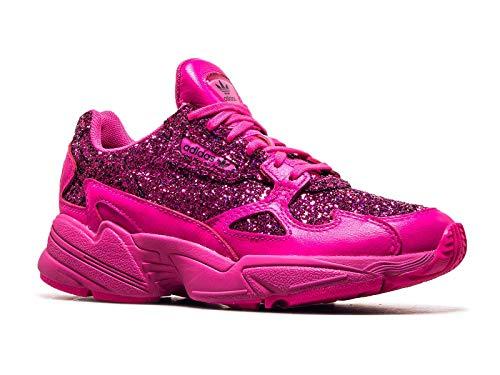 adidas Falcon W, Chaussures de Fitness Femme, Blanc FtwblaBalcri 000, 38 EU