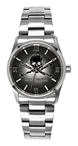Zadig & Voltaire - Reloj de cuarzo unisex, correa de acero inoxidable color plateado de Zadig & Voltaire