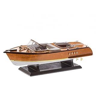 Modellschiff Sportboot Italien Schiffsmodell Yacht Schiff Boot Modell 50cm