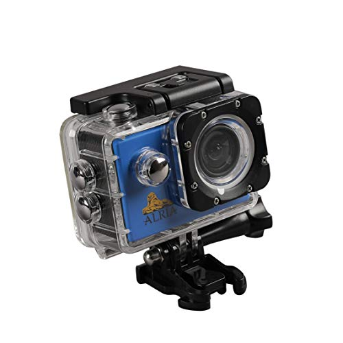 ALRIA Mini 1080P Full HD DV Sports Recorder Car Waterproof Action Camera/Camcorder  Blue  Action Cameras