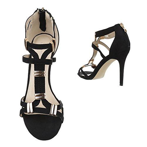 Ital-Design, Sandali donna Nero