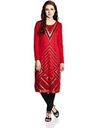 Global Desi Women's A-Line Kurta