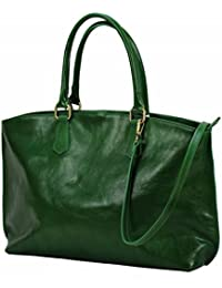 13e25046eb0c4 BZNA Bag Ina Grün verde Italy Business Luxus Büro Designer Ledertasche City  Damen Aktentasche Handtasche Schultertasche