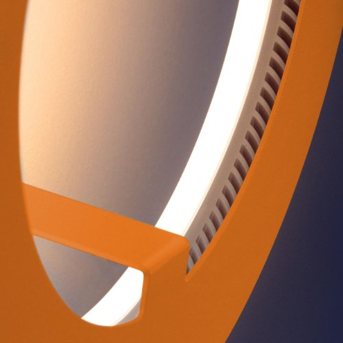 assolutamente-circle-led-da-parete-soffitto-design-arancione