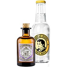 Gin Tonic Probierset - Monkey 47 Schwarzwald Dry Gin 5cl (47% Vol) + Thomas Henry Tonic Water 200ml