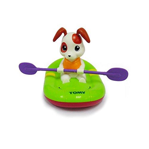 """Tomy Wasserpsielzeug """"Paddy der paddelnde Welpe"""" - hochwertiges Badewannenspielzeug - ab 10 Monate"""