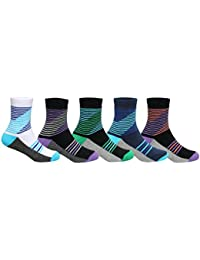 Supersox Kid's Pack of 5 Regular Combed Cotton Terry Socks Combo-5