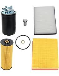 Paquete para inspección Juego Filtros AUDI A6 4B C5 2.5 TDI 97-05;