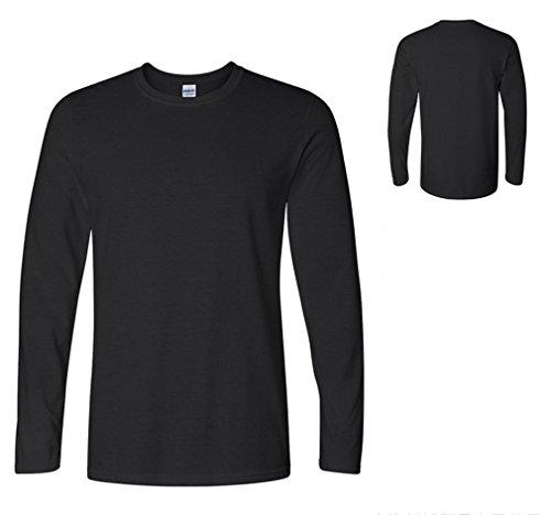 Smile YKK Herren Männer Langarmshirt Pullover Pulli Sweat Heavy Hoodies Sweatershirts T-Shirt Sweatershirt Schwarz