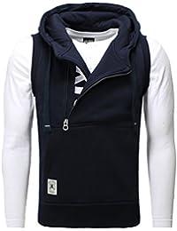 Suchergebnis auf für: hoodie ohne arme: Bekleidung