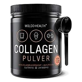 Collagene da Bovini Polvere Proteica puro – 500g Idrolizzato Ideale per le diete paleo Atkins Keto e low Carb