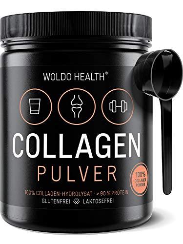 Collagen Protein Pulver 100{ced9ab16484b66a264f9490d3d3bc07bb6354a636dbe3e7dcc6811d190bc2ec1} Rinder Kollagen - Weidehaltung 500g Protein Hydrolysat geschmacksneutral