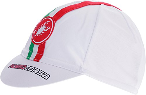 Castelli – Cap Performance Cycling, Weiß