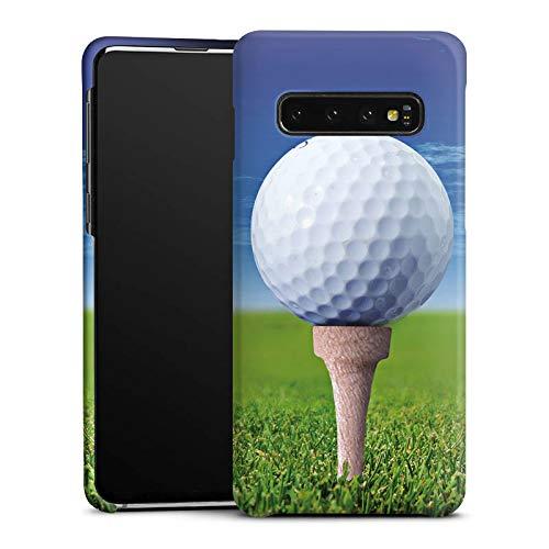 DeinDesign Handyhülle kompatibel mit Samsung Galaxy S10 Hülle Premium Case Golf Golfball Sport