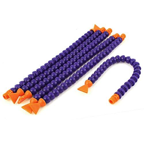 Sourcingmap-® 6pcs plástico Flexible agua aceite